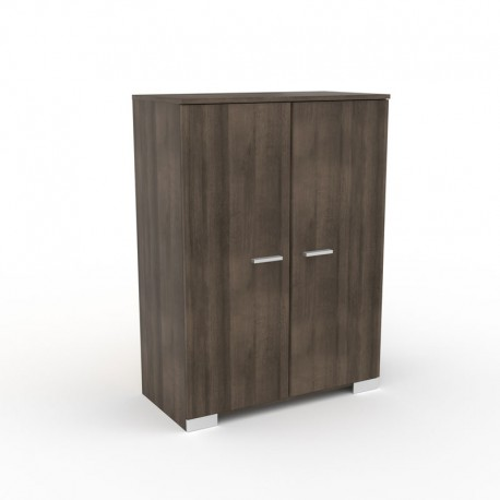 petite armoire noyer 2 portes lille univers de la chambre. Black Bedroom Furniture Sets. Home Design Ideas