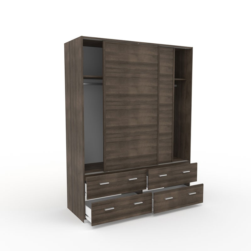 armoire dressing noyer portes coulissantes lille univers de la chambre. Black Bedroom Furniture Sets. Home Design Ideas