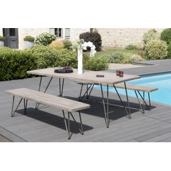 Ensemble Table & Bancs de Jardin - GARD n°3