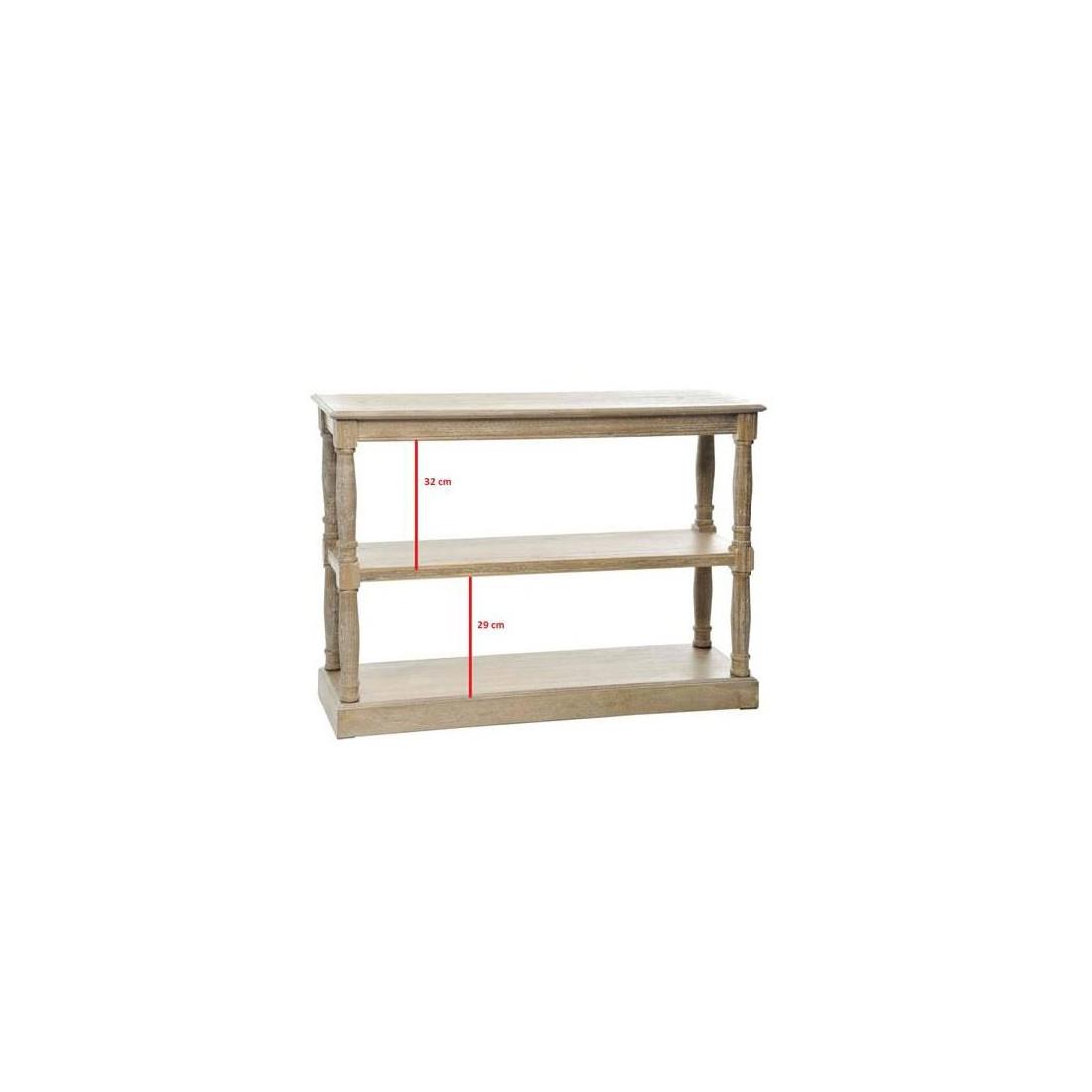 console 3 tag res grise eve univers petits meubles tousmesmeubles. Black Bedroom Furniture Sets. Home Design Ideas