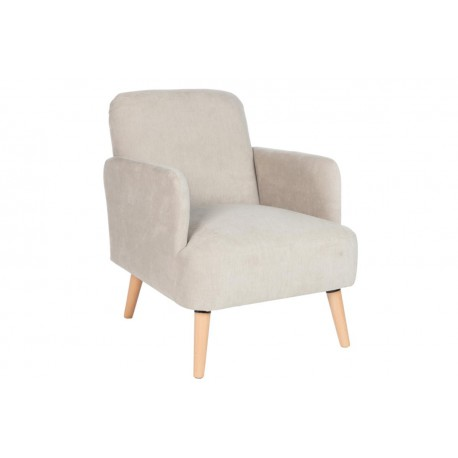 Fauteuil Tissu Gris - CIAO