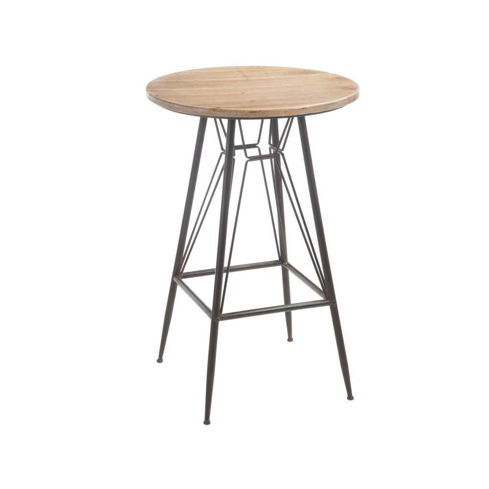 Table de bar Bois/Métal - VENUS