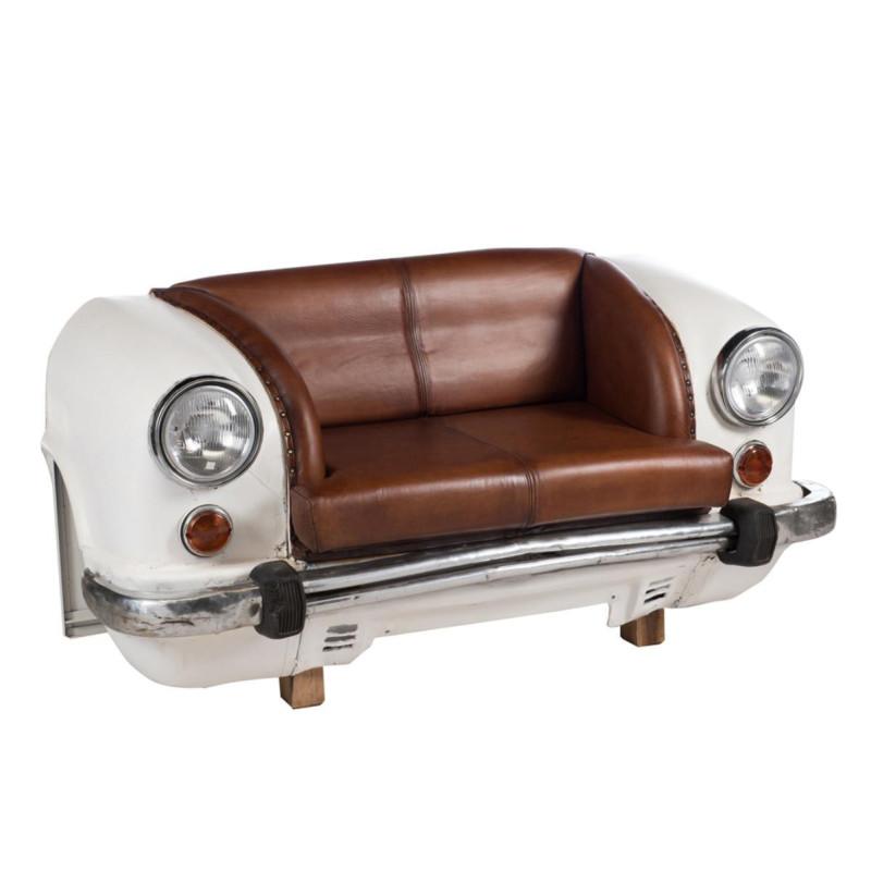 Canapé voiture Métal/Cuir - TACOTS