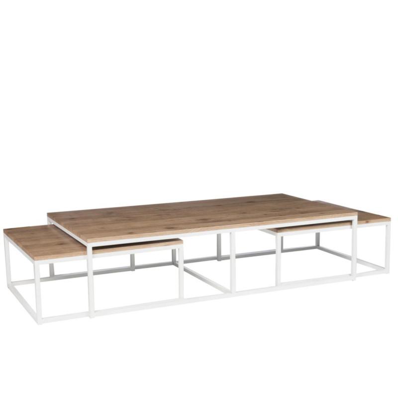 Tables gigognes Bois/Métal - GABY