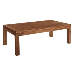 Table basse 120 cm bois exotique colonial - Univers Salon : Tousmesmeubles