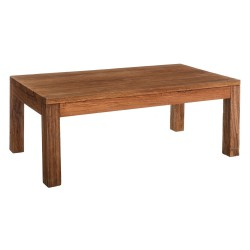 Table basse 140 cm colonial bois exotique - Univers Salon : Tousmesmeubles