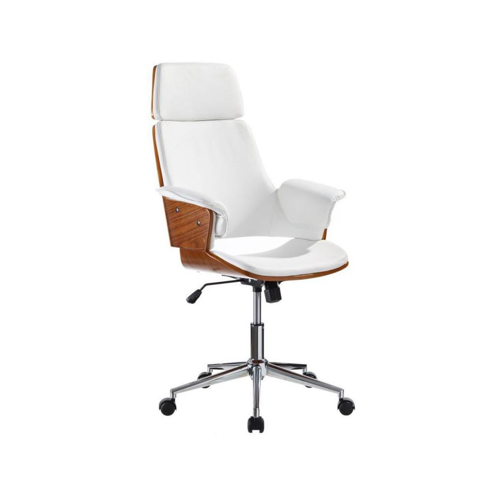 Chaise Bureau Bois Blanc