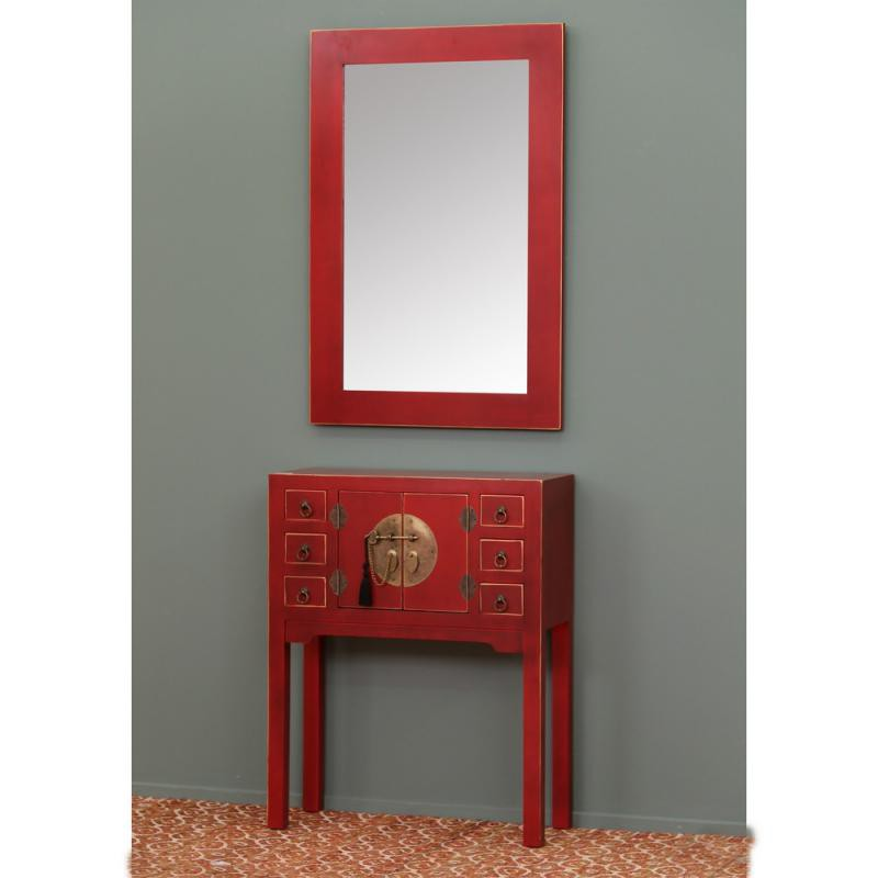 console rouge meuble chinois pekin univers des petits meubles. Black Bedroom Furniture Sets. Home Design Ideas