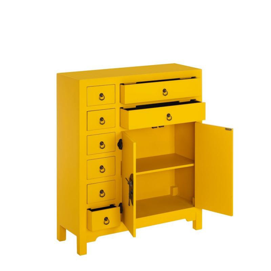 meuble d 39 entr e jaune meuble chinois pekin univers petits meubles. Black Bedroom Furniture Sets. Home Design Ideas