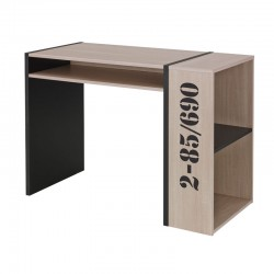 Bureau 3 niches de rangement - OCTAVIA