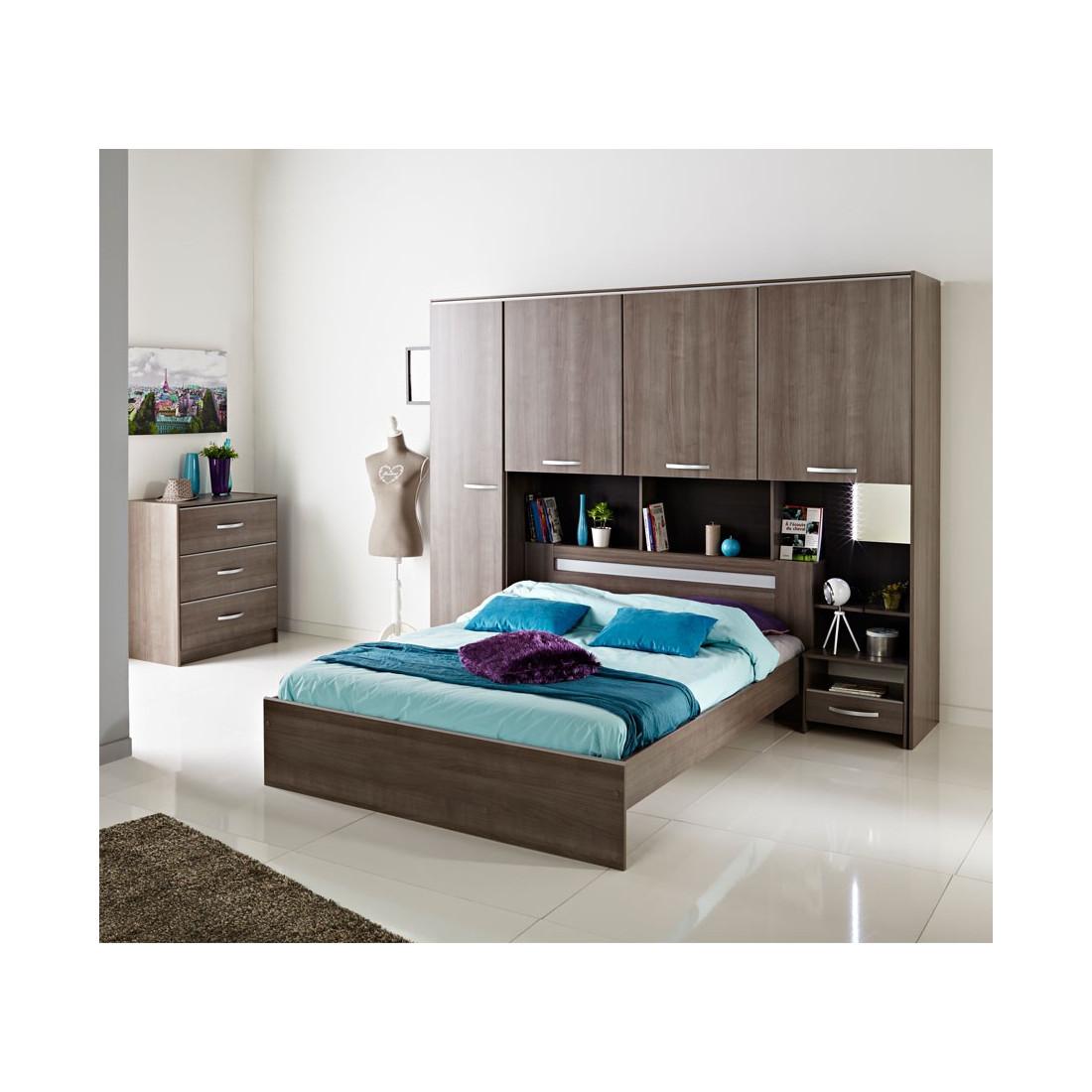 cadre de lit t te de lit 140 190 evy univers de la chambre. Black Bedroom Furniture Sets. Home Design Ideas
