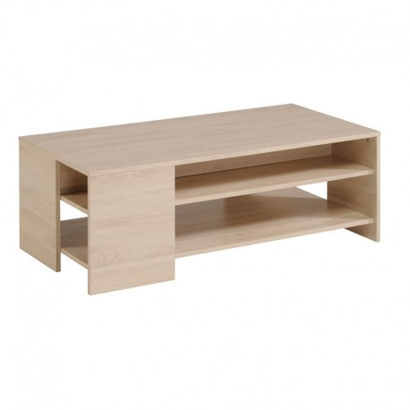 Table basse moderne bois clair - Univers Salon : Tousmesmeubles