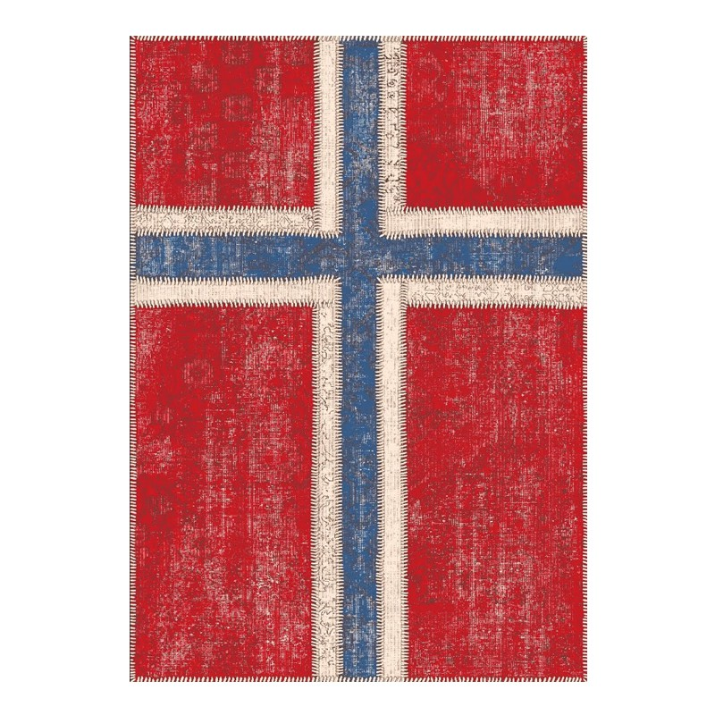 Tapis 180 x 120 cm - NORWAY - L 180 x l 120