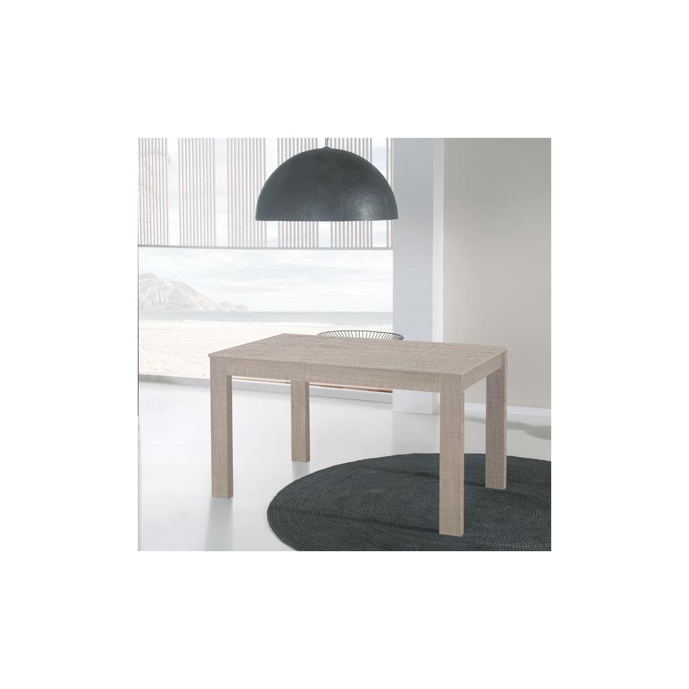 Table de repas à allonges Chêne clair - TOVA