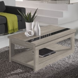 Table basse relevable Chêne clair - UPTI