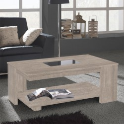 Table basse relevable Chêne clair - DIPA