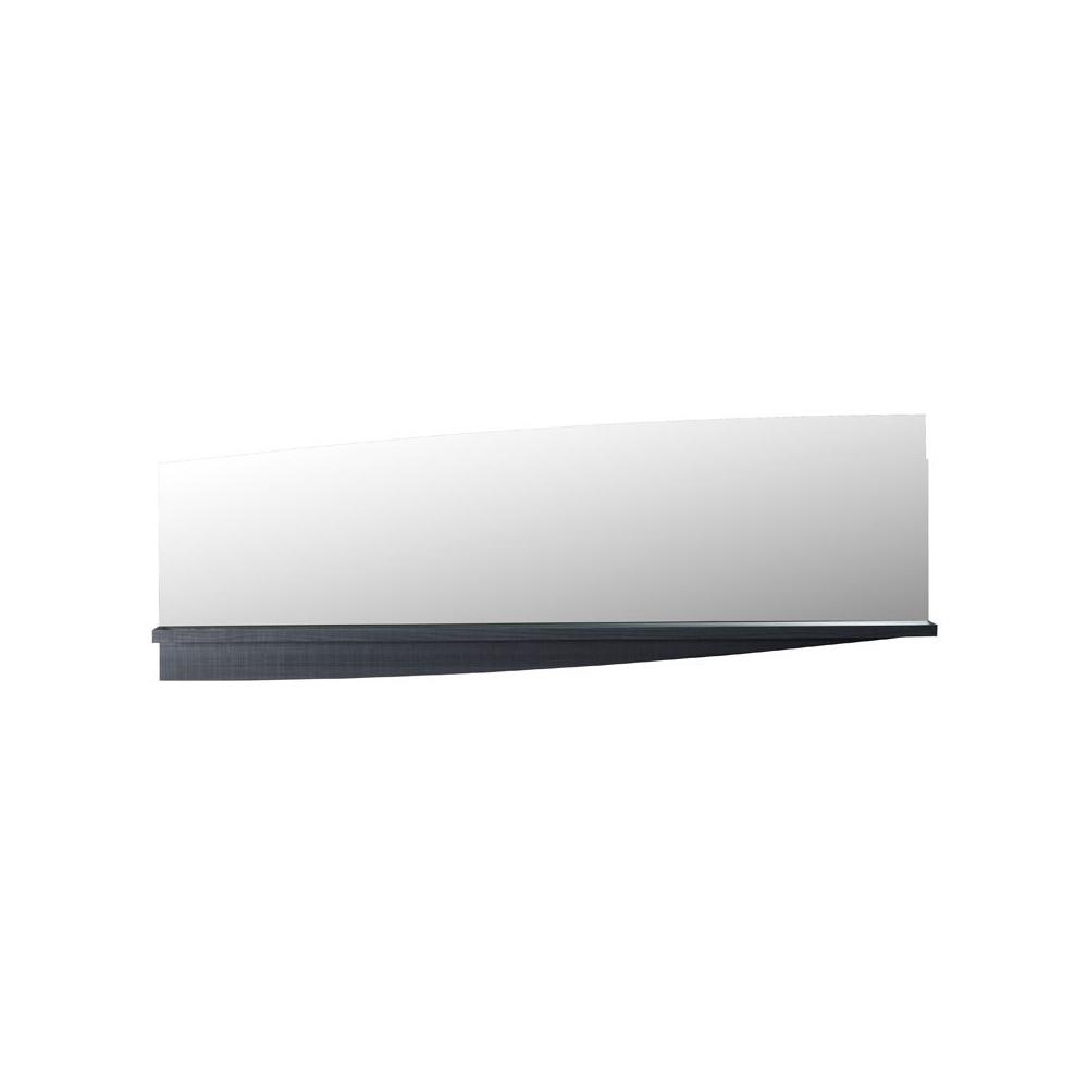 Miroir rectangulaire Gris - ECLYPSE