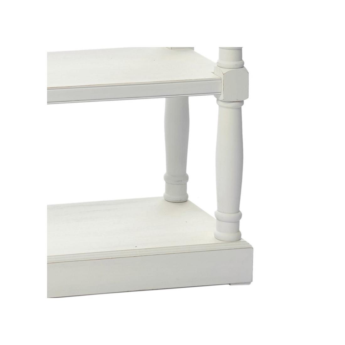 console en bois blanc eve petits meubles tousmesmeubmes. Black Bedroom Furniture Sets. Home Design Ideas