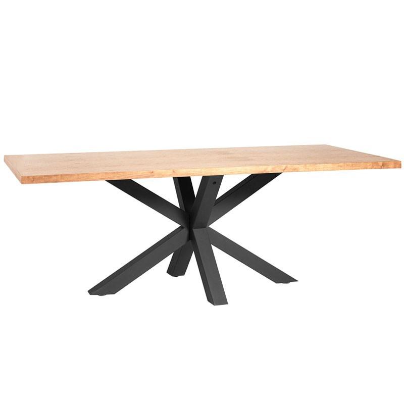 Table de repas Chêne et pieds Noirs - KALA