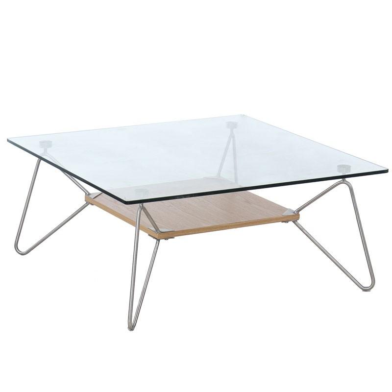 Table basse Piétement filiforme Acier - COLETTE