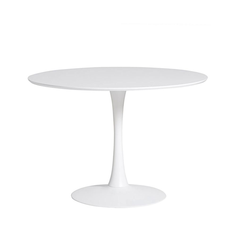 Table de repas ronde Blanche pied central - STILL