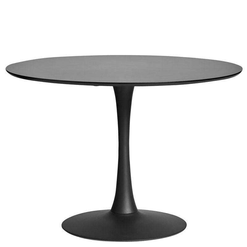 Table de repas ronde Noire pied central - STILL