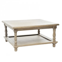 Table basse bois grisé - EVE