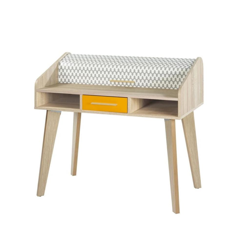 bureau rideau 1 tiroir scandinave arkos n 13 univers du bureau. Black Bedroom Furniture Sets. Home Design Ideas