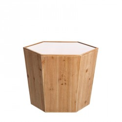 Table d'appoint hexagonal taille S - LIBELLULE