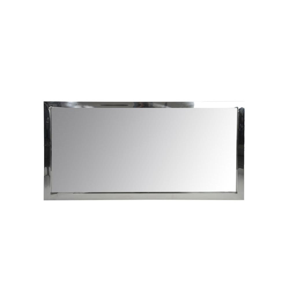 Miroir Rectangulaire Acier Taille M - HASH