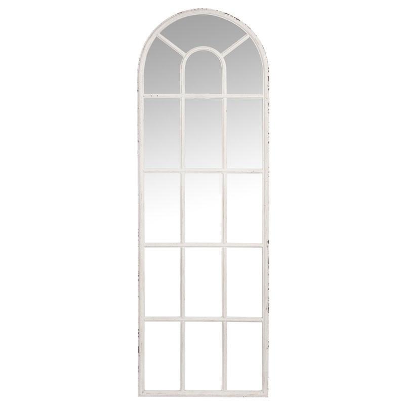 Miroir fenêtre Métal blanc taille M - UTHER