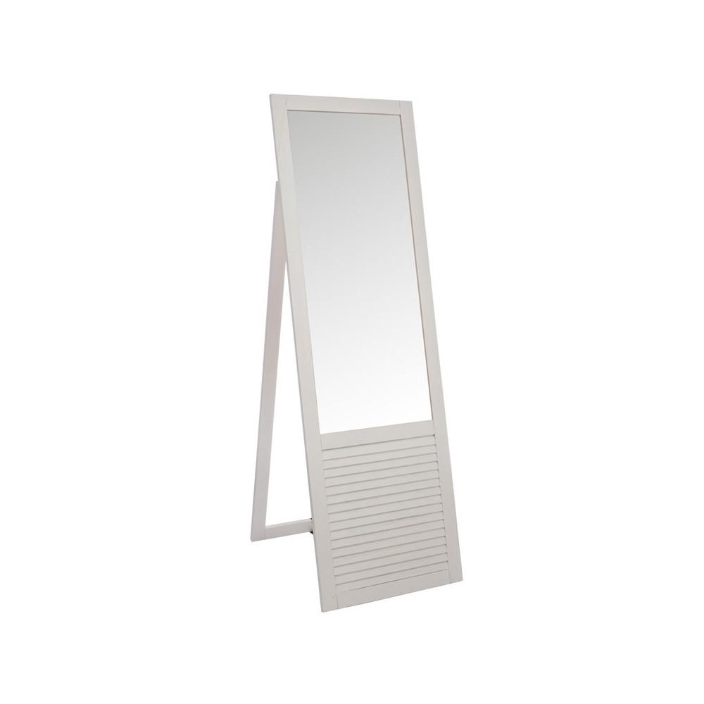 Miroir rectangulaire Bois blanc - TYRANDE