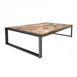 Table basse rectangle 140 cm - INDUSTRY