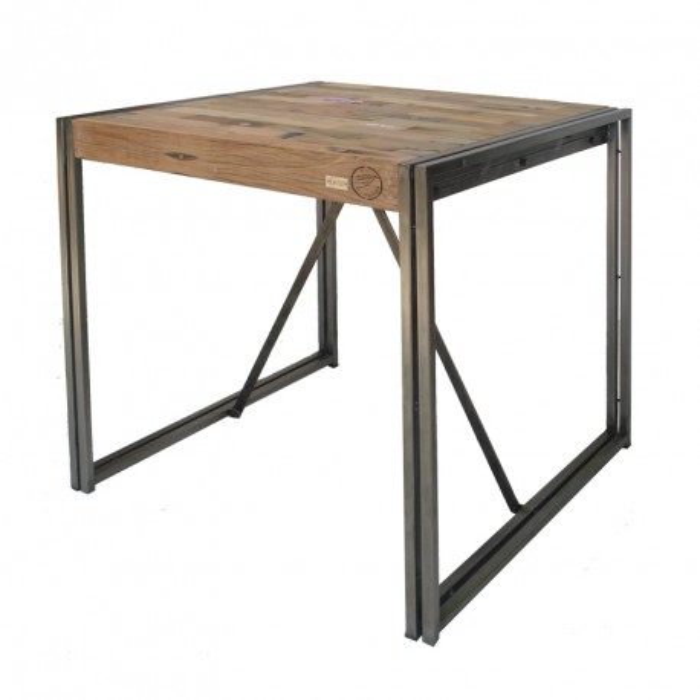 "Table ""mange debout"" 80 cm² - INDUSTRY"