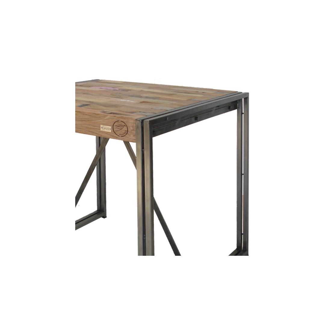 table mange debout 80 cm industry univers du salon tousmesmeubles. Black Bedroom Furniture Sets. Home Design Ideas