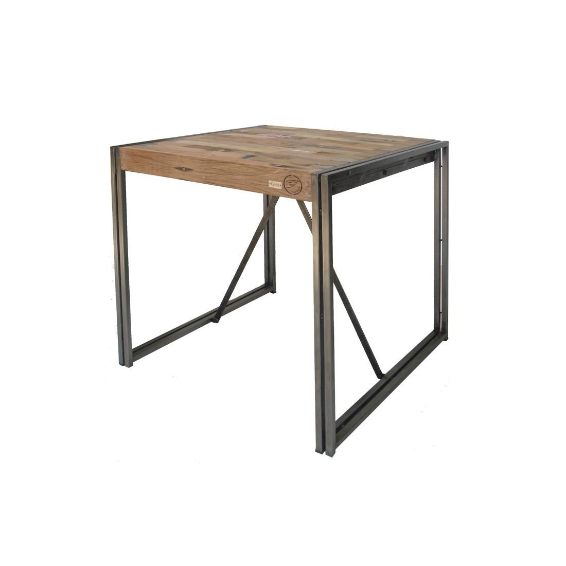 table mange debout 100 cm industry univers du salon tousmesmeubles. Black Bedroom Furniture Sets. Home Design Ideas