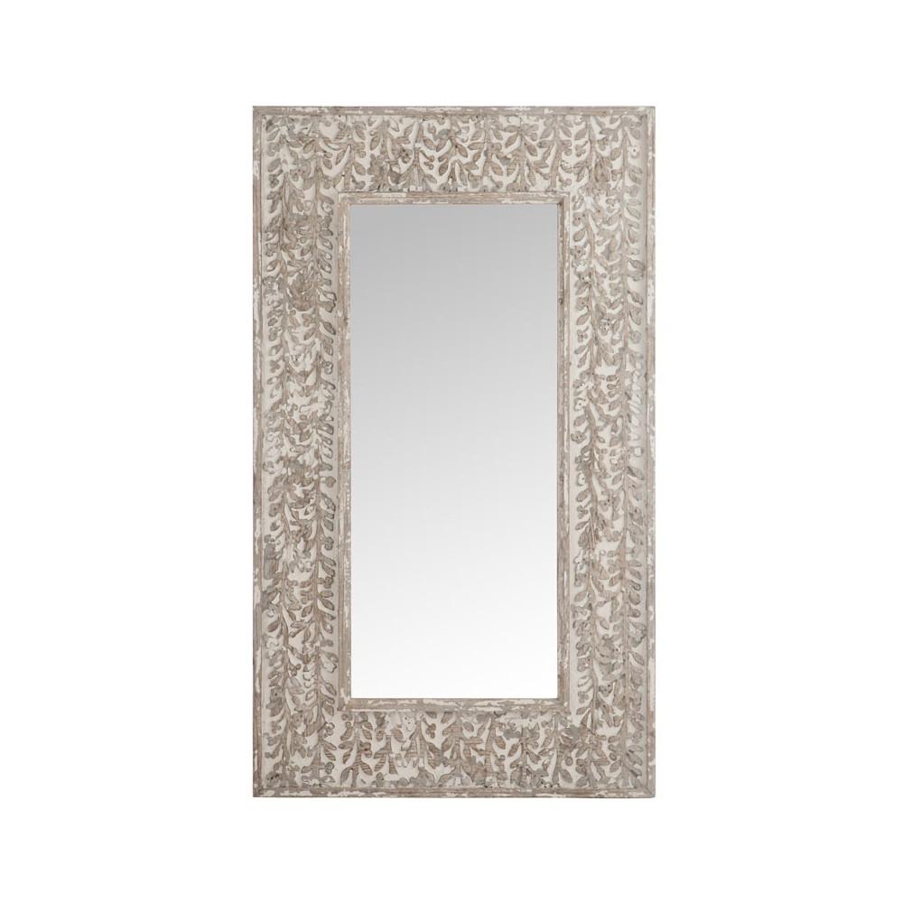 Miroir rectangulaire Bois sable - AVORIO