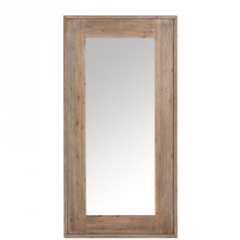 Miroir rectangulaire Bois naturel - GOEMON