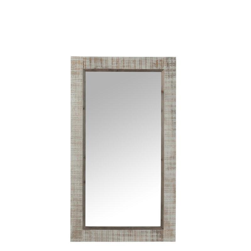 Miroir rectangulaire Bois gris - CANON