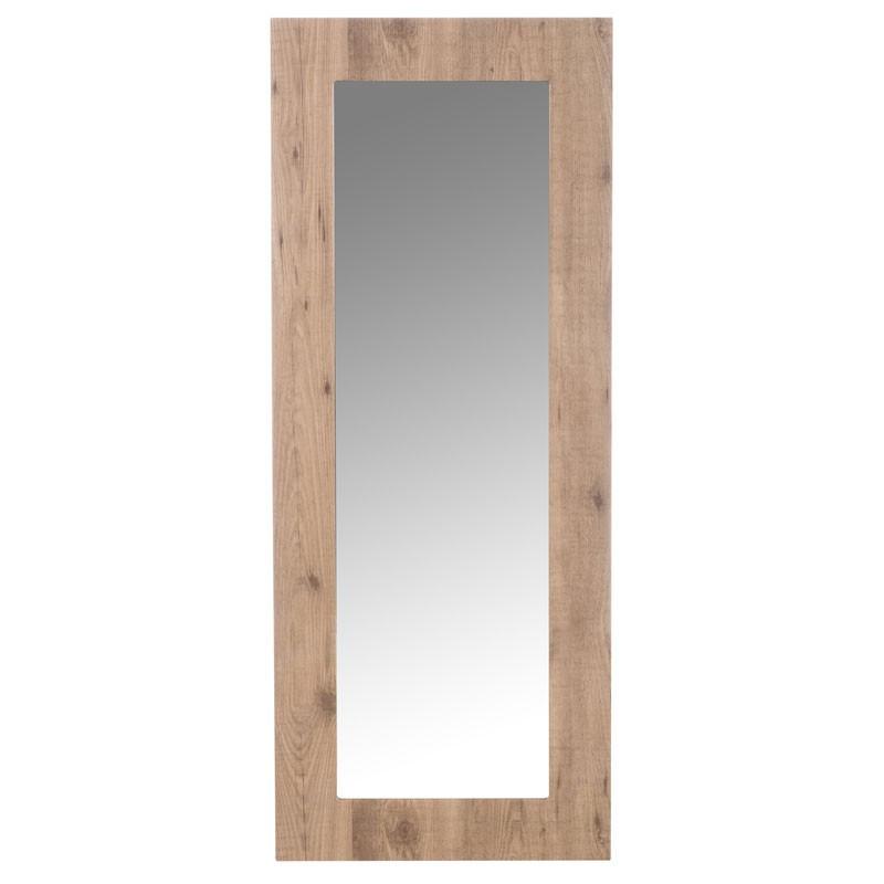 Miroir rectangulaire Bois naturel - GABY