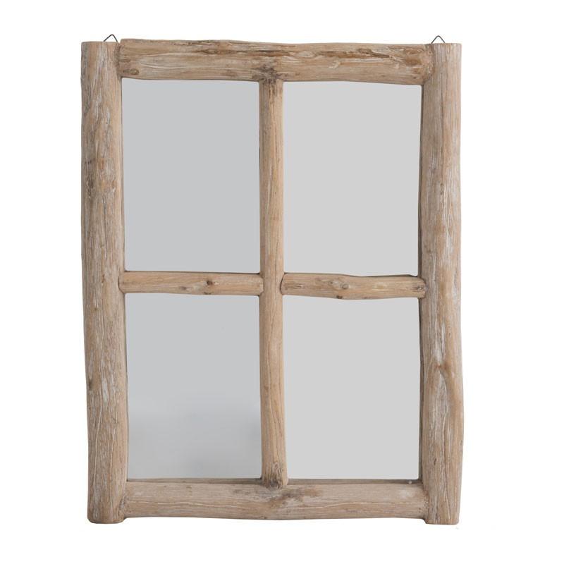 Miroir fenêtre Chêne naturel - LAMBIE