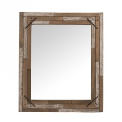 Miroir rectangulaire Bois naturel - CHOPPER