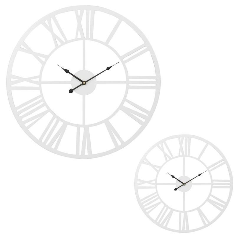 Duo d'horloges taille S Métal blanc - ISATIS