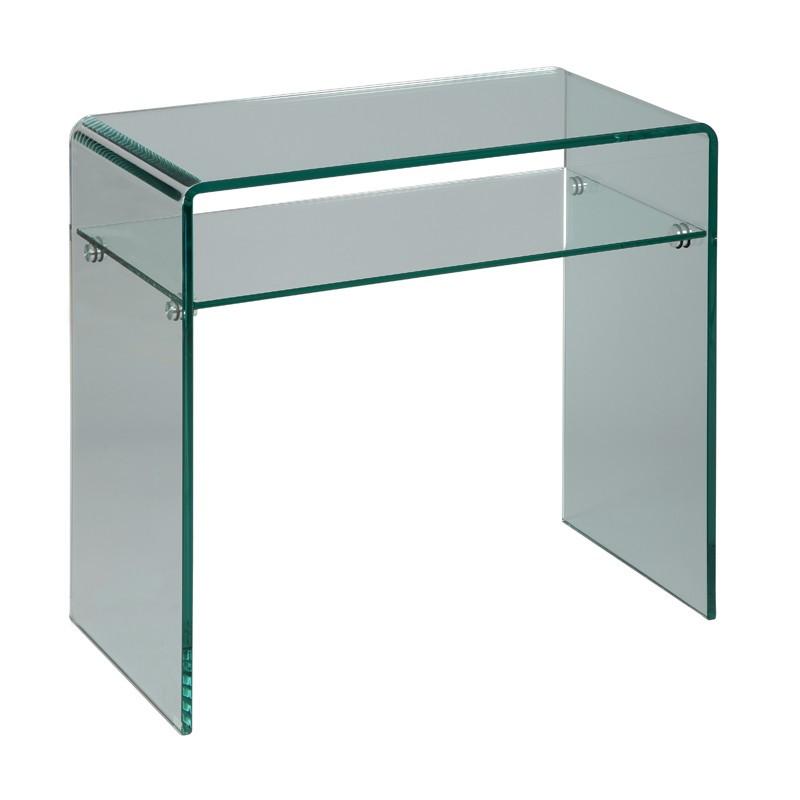 Console Verre 1 étagère - CLEAN