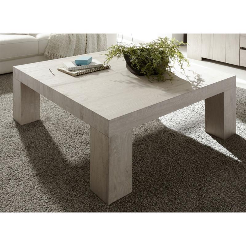 Table basse carrée Chêne Beige - ALMATI