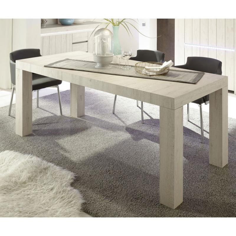 Table de repas 189 cm Chêne Beige - ALMATI