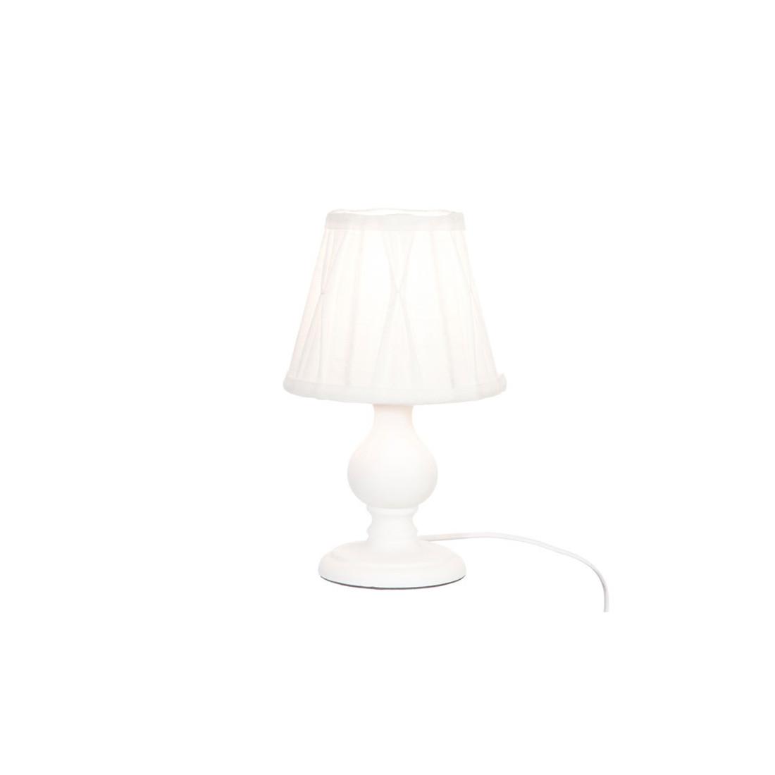 Duo De Lampes De Chevet Bois Blanc Sirli Univers De La Decoration