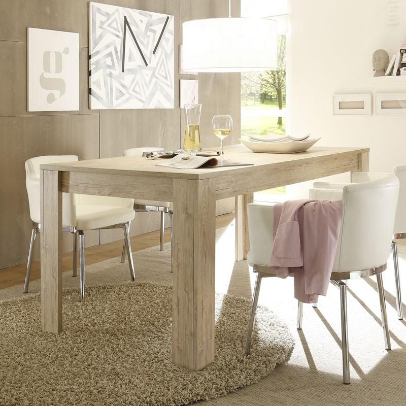 Table de repas Chêne clair - PALERME n°2