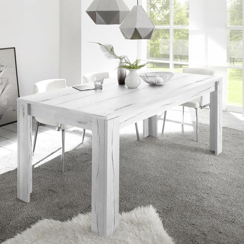 Table de repas Chêne blanchi - PALERME n°1