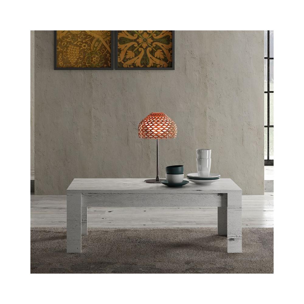 table basse rectangulaire ch ne blanchi palerme univers. Black Bedroom Furniture Sets. Home Design Ideas